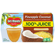 Pineapple in 100% Coconut Flavored Juice, Fruit Cup® Snacks