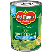 Blue Lake® Cut Green Beans - Low Sodium