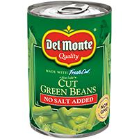 Blue Lake® Cut Green Beans - No Salt Added