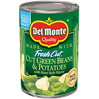 Blue Lake® Cut Green Beans and Potatoes with Ham-Style Flavor