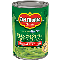 Blue Lake® French Style Green Beans - No Salt Added