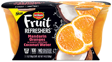 Fruit Refreshers™ Mandarin Oranges in Slightly Sweetened Coconut Water