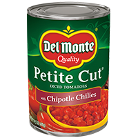 Petite Cut Diced® Tomatoes with Chipotle Chilies