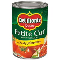 Petite Cut Diced® Tomatoes with Zesty Jalapeños