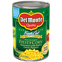Whole Kernel Fiesta Corn® with Red & Green Peppers