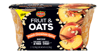 Fruit & Oats™ Peach Cinnamon Spice