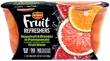 Fruit Refreshers® Grapefruit & Oranges in Pomegranate Flavored Slightly Sweetened Fruit Water