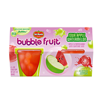 Bubble Fruit Sour Apple Watermelon