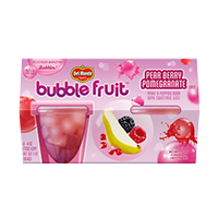 Bubble Fruit Pear Berry Pomegranate