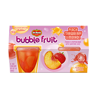 Bubble Fruit Peach Strawberry Lemonade