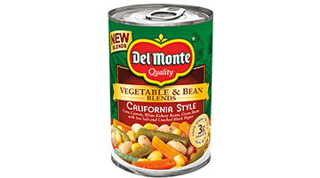 Vegetable & Bean Blends California Style