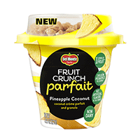 Fruit Crunch Parfait Pineapple Coconut