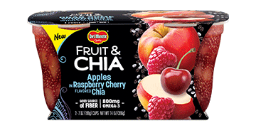Del Monte® Fruit & Chia™ Apples in Raspberry Cherry Flavored Chia