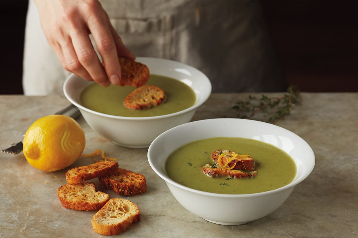 Quick Sweet Pea Soup