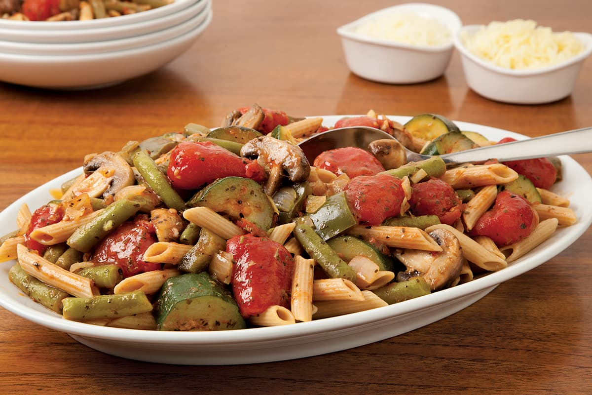 Ratatouille-Style Vegetable Penne Pasta
