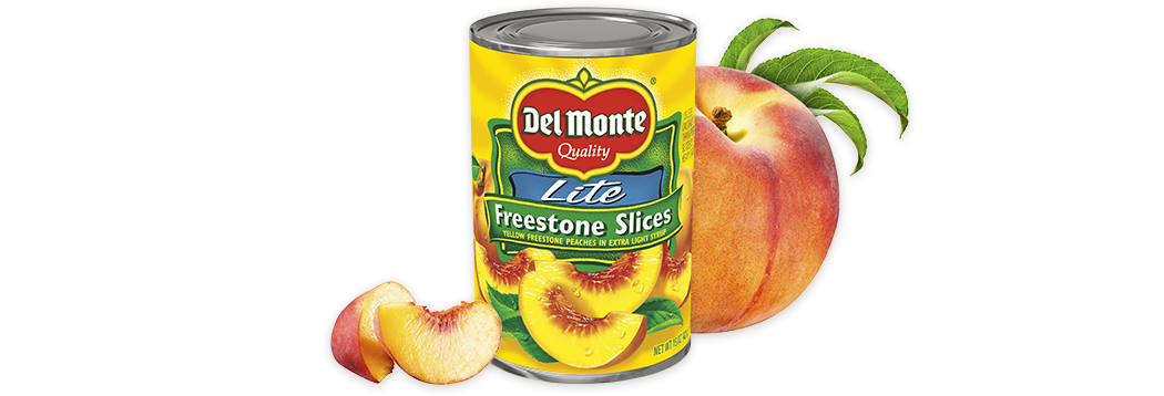 Sliced Freestone Peaches - Lite