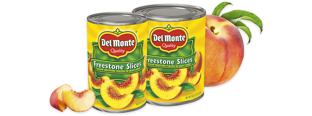 Sliced Freestone Peaches