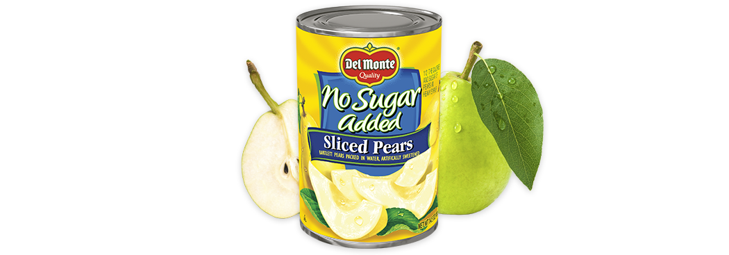 Sliced Pears - No Sugar Added