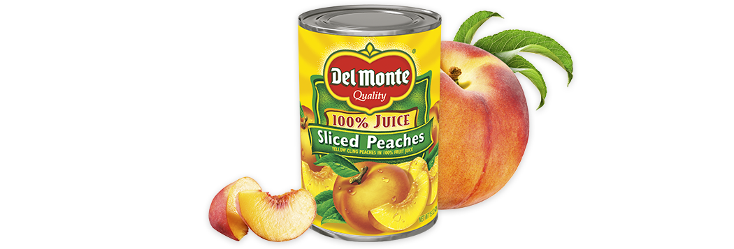 Sliced Yellow Cling Peaches in 100% Juice
