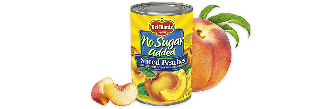 Sliced Yellow Cling Peaches - No Sugar Added