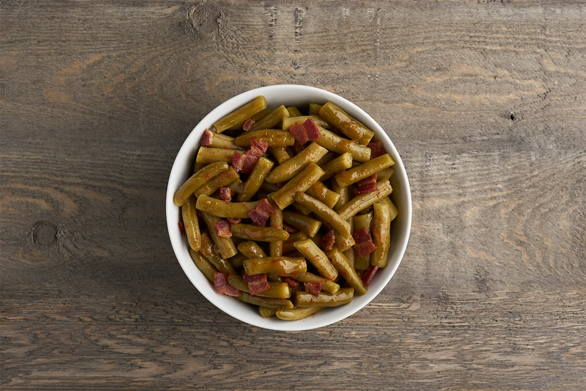 Sides in 5: Sweet & Spicy Bacon Green Beans