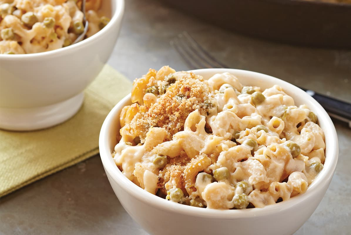 The Best Macaroni, Cheese and Peas