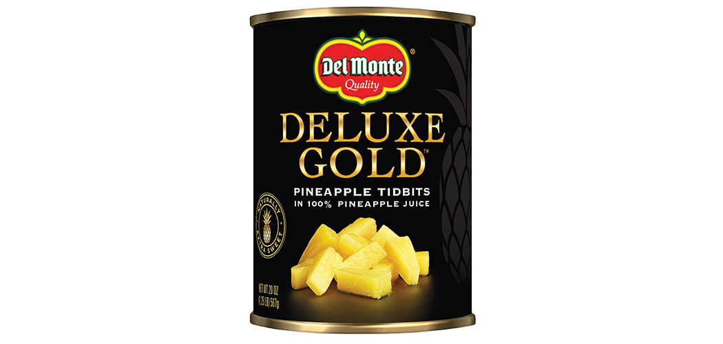 Deluxe Gold Pineapple Tidbits