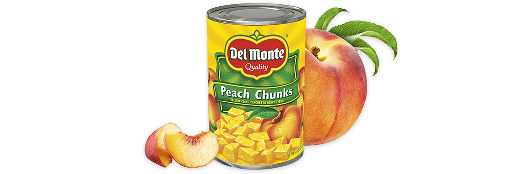 Yellow Cling Peach Chunks