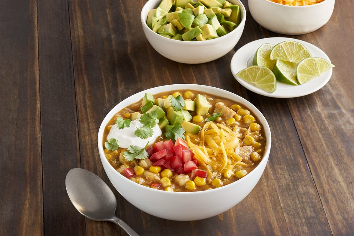 Zesty White Corn Chili